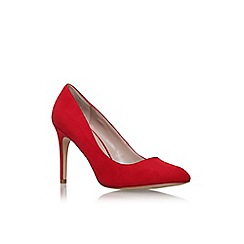 Carvela - Red 'Kleen' high heel court shoe