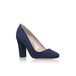 Carvela - Blue 'Klip' high heel court shoe
