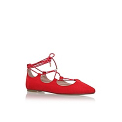 Carvela - Red 'Lucky' flat ballerina pumps