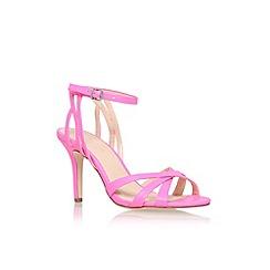 Carvela - Pink 'Lyra' high heel sandal