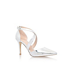 Carvela - Silver 'kross' high heel sandal