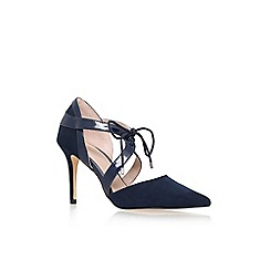 Carvela - Blue 'Klamp' high heel lace up court shoe