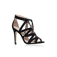 Carvela - Black 'Luck' high heel strappy sandal
