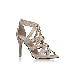 Carvela - Gold 'Luck' high heel sandal