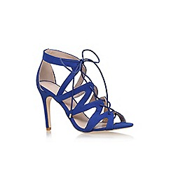 Carvela - Blue 'Luck' high heel sandal
