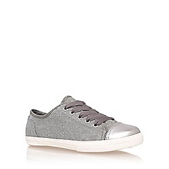 Carvela - Metal 'Mexx' flat lace up sneakers