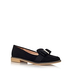 Miss KG - Black 'Marcie' low heel slip on loafer