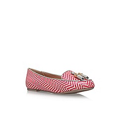 Miss KG - Red 'Neptune' flat pumps