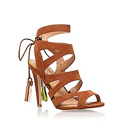 Miss KG - Brown 'Frenchy 2' high heel sandal