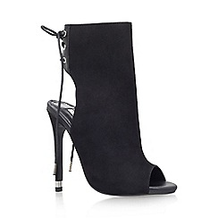 Carvela - Black 'Gabby' high heel shoe boot