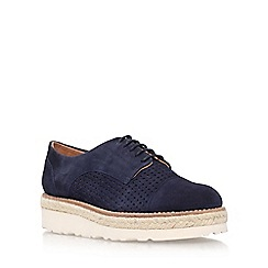 Carvela - Blue 'Lucky' lace up shoe