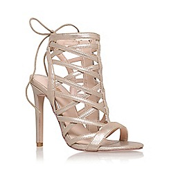 Carvela - Gold 'Gracie' high heel sandal