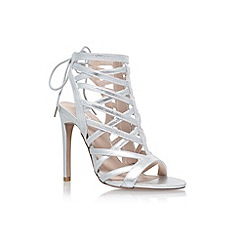 Carvela - Silver 'Gracie' high heel sandals