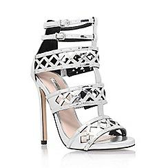 Carvela - Silver 'Garland' high heel sandal