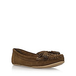 Carvela - Brown 'Lovely' flat loafers