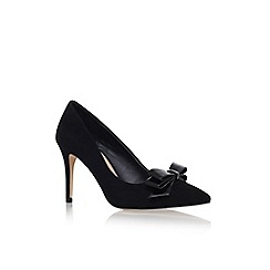 Miss KG - Black 'ivanna' high heel court shoe