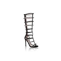 Carvela - Black 'Guilt' high heel strappy sandal