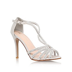 Miss KG - Silver 'Pepper 2' high heel sandal