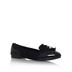 Miss KG - Black 'Karina' tassel loafer