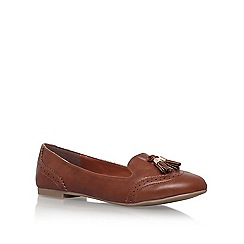 Miss KG - Tan 'Karina' tassel loafer