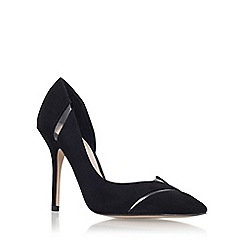 Carvela - Black 'Alma' high heel court shoe