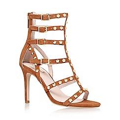 Carvela - Brown 'Gloss' high heel sandal