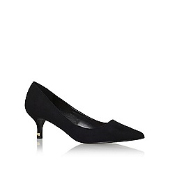 Miss KG - Black 'samantha' mid heel court shoe