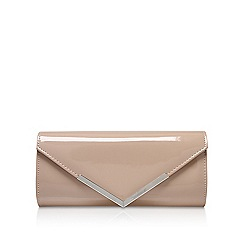 Carvela - Nude 'Daphne' envelope clutch bag