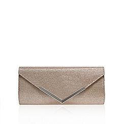 Carvela - Silver 'Daphne' envelope clutch bag