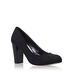 Carvela - Black 'Adara' high heel court shoe