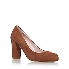 Carvela - Brown 'adara' high heel court shoe
