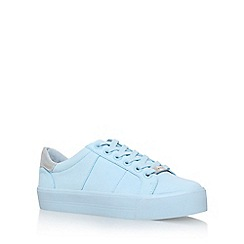 Carvela - Blue 'Lotus' flat lace up sneaker