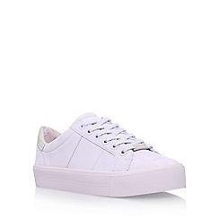 Carvela - Purple 'Lotus' flat lace up sneaker