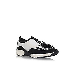 Carvela - White 'Lullaby' flat slip on sneakers