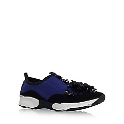 Carvela - Blue 'Lullaby' slip on sneaker