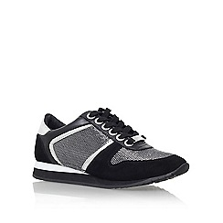 Carvela - Black 'Lennie' flat lace up sneaker
