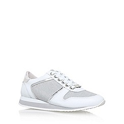 Carvela - White 'Lennie' low heel lace up sneakers