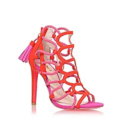 Carvela - Red 'Gabriel' high heel sandal