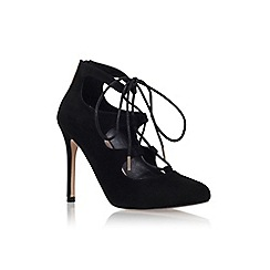 Carvela - Black 'audrina' high heel lace up shoe