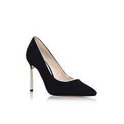 Nine West - Black 'Infenty' high heel court shoe