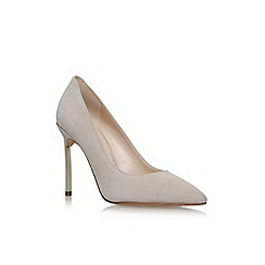 Nine West - Brown 'Infenty9' high heel court shoes