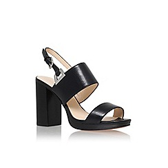 Nine West - Black 'paladian' high heel sandal