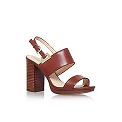 Nine West - Brown 'paladian' high heel sandal