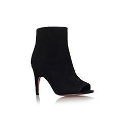 Nine West - Black 'Shiso' high heel peep toe boot