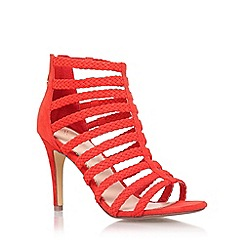 KG Kurt Geiger - Red 'Honey' high heel sandal