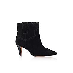Nine West - Black 'jamaya' low heel ankle boot