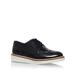 KG Kurt Geiger - Black 'Knox' low heel lace up shoe