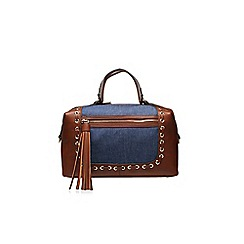 Nine West - Brown 'New Frontier' large handbag with shoulder strap