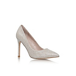 Carvela - Kestral silver high heel court shoe