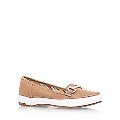 Anne Klein - Brown 'tameron2' flat slip on loafer